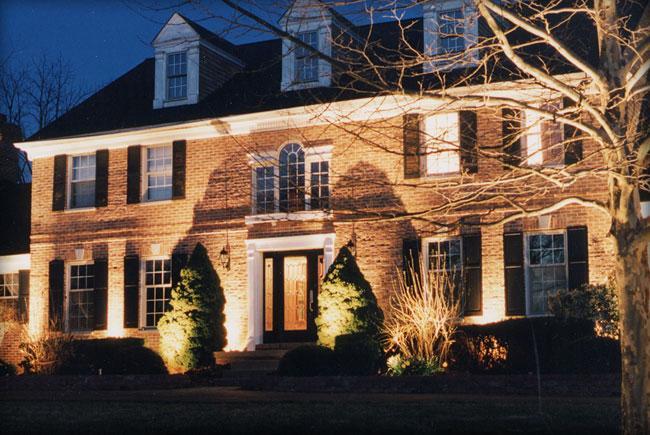 Các loại đèn ngoại thất lắp đặt bên ngoài ngôi nhà