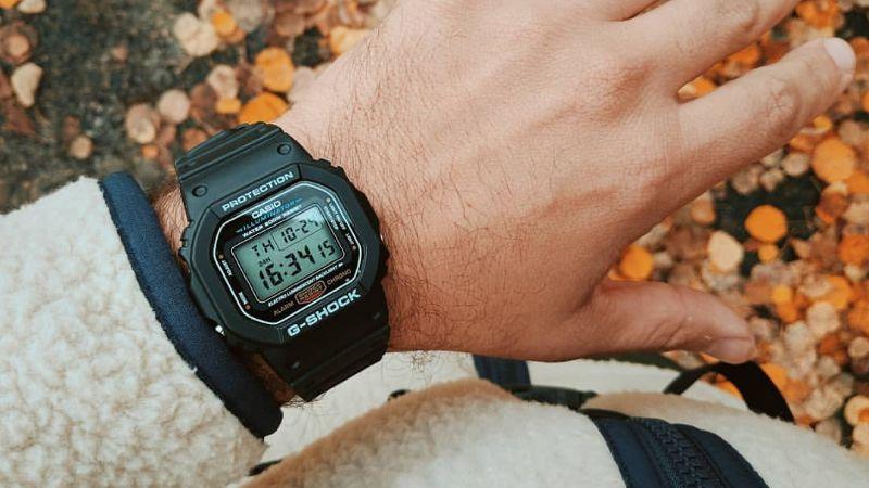 Đồng hồ G-Shock DW-5600E-1VDF – Nam – Quartz (Pin) – Dây Cao Su